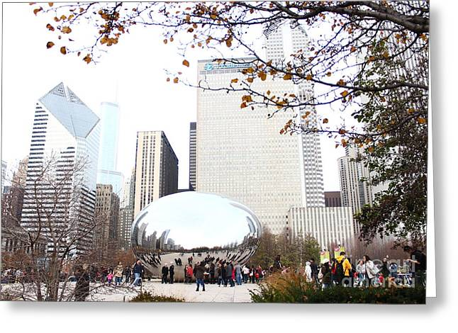The Bean Greeting Cards - The bean at Chicago Greeting Card by Dipali S