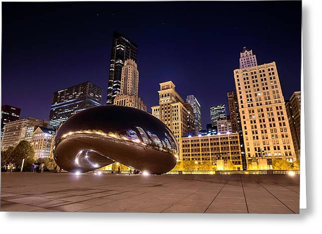 The Bean Greeting Cards - The Bean Greeting Card by Shawn Jackson