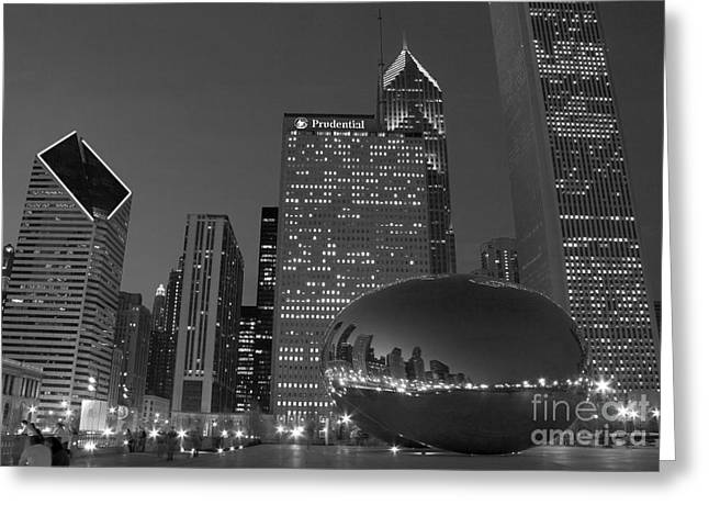 The Bean Photographs Greeting Cards - The Bean Greeting Card by Timothy Johnson