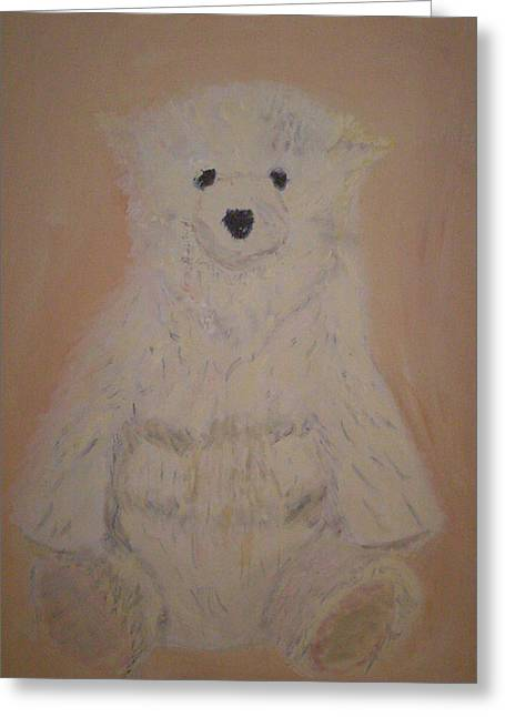 Stuffy Greeting Cards - The Bear Greeting Card by Rob Spencer