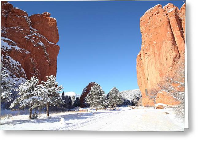 Portal Greeting Cards - The Beautiful Gate Greeting Card by Eric Glaser