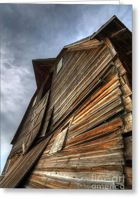 Canadian Photographer Greeting Cards - The Beauty Of Barns 4 Greeting Card by Bob Christopher