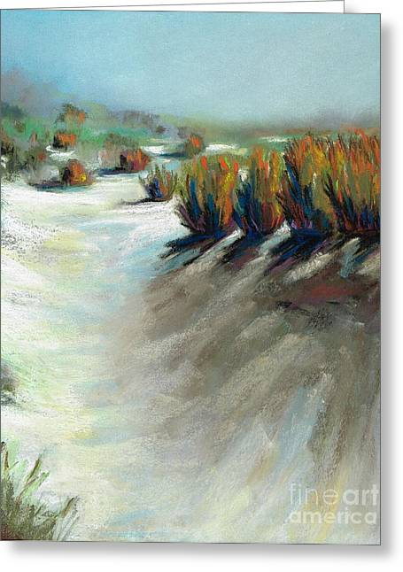 Western Western Art Pastels Greeting Cards - The Beauty Of Being Washed Out Greeting Card by Frances Marino