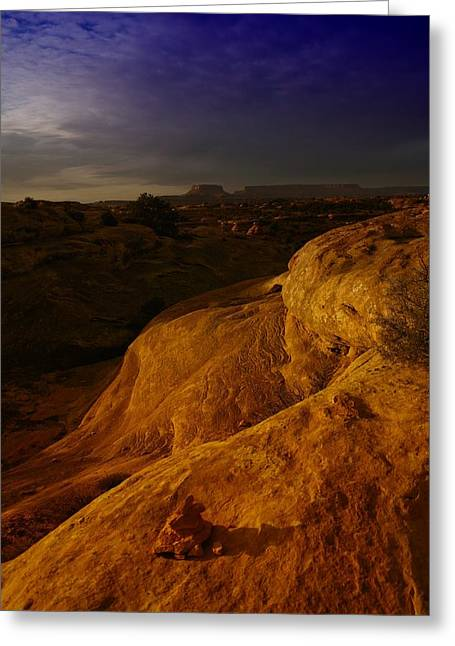 Canyon Lands Greeting Cards - The Beauty Of Canyonlands Greeting Card by Jeff  Swan