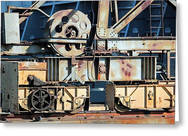 Cog Greeting Cards - The Beauty of Gears and Cogs Greeting Card by Suzanne Gaff