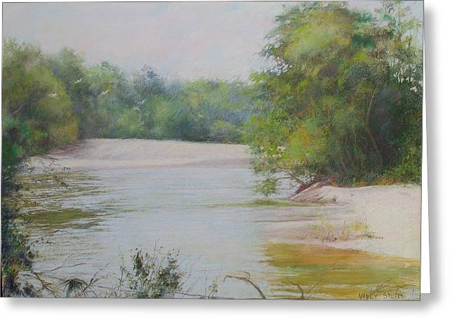 Louisiana Pastels Greeting Cards - The Beauty Of Nature Greeting Card by Nancy Stutes