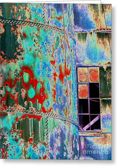 Component Greeting Cards - The Beauty of Steel Greeting Card by Marcia Lee Jones
