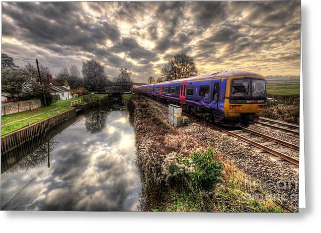 First-class Greeting Cards - The Bedwyn Turbo Greeting Card by Rob Hawkins