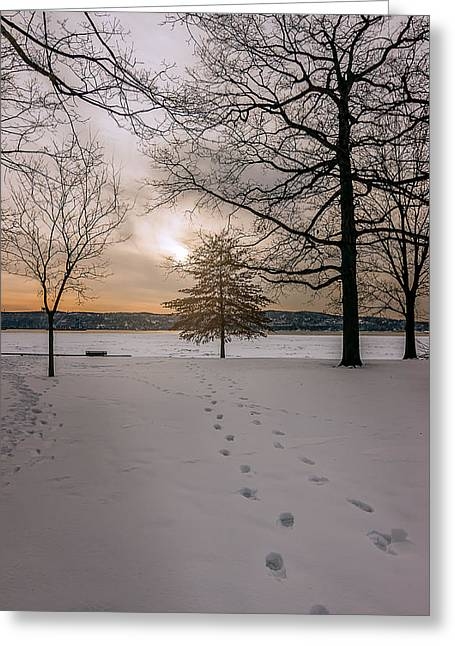 Recently Sold -  - Sunset Framed Prints Greeting Cards - The Beginning  Greeting Card by Anthony Fields