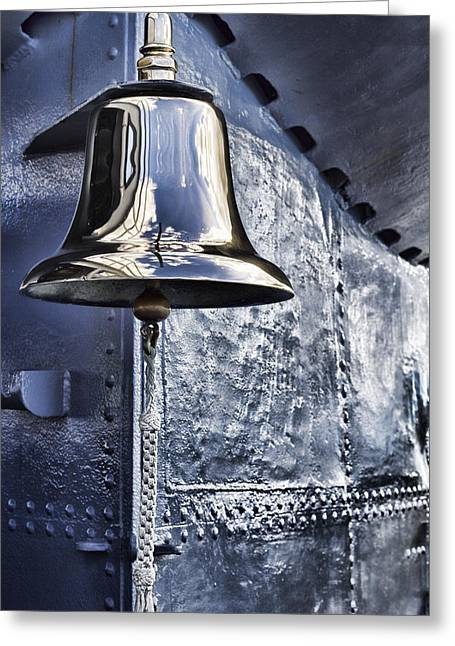 The Bell-uss Bowfin Pearl Harbor Greeting Card by Douglas Barnard