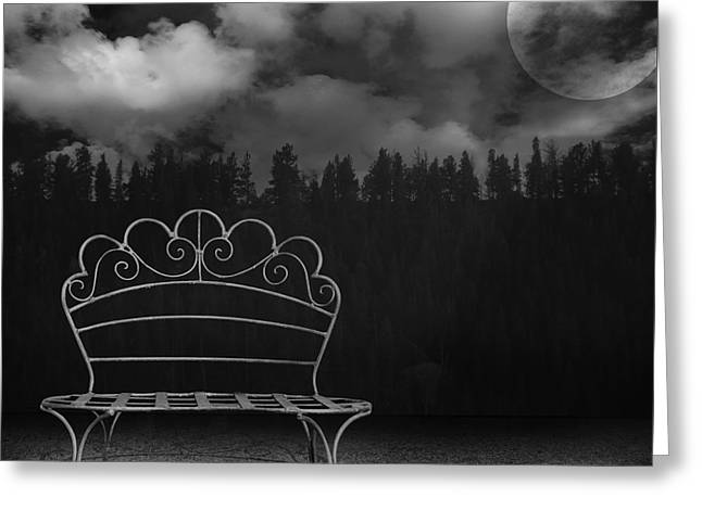 Purchase Greeting Cards - The Bench is Back Greeting Card by Steven  Michael
