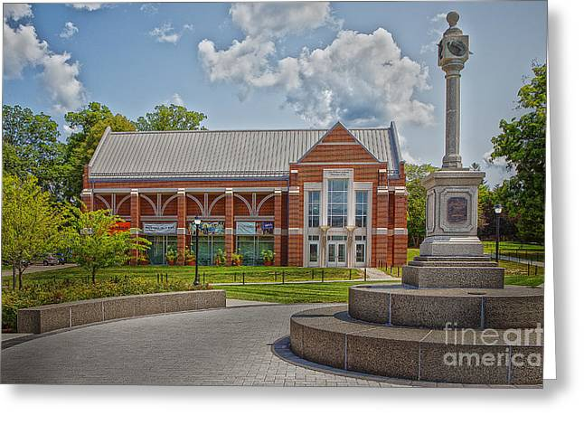 Uconn Greeting Cards - The Benton Museum of Art - UConn Greeting Card by Steve Pfaffle