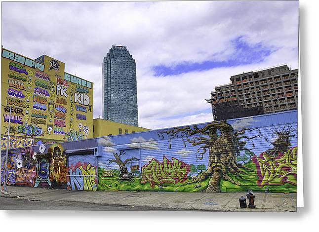 Counterculture Greeting Cards - The Best Citi Graffiti Greeting Card by E Osmanoglu