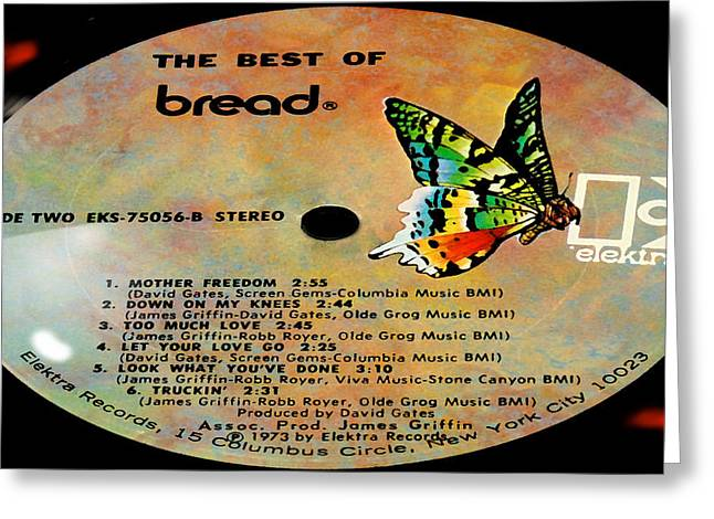 The Best Of Bread Side 2 Greeting Card by Marcello Cicchini