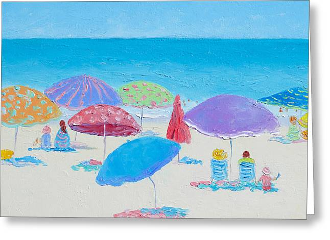 Beach Cottage Style Greeting Cards - The Best of Days Greeting Card by Jan Matson