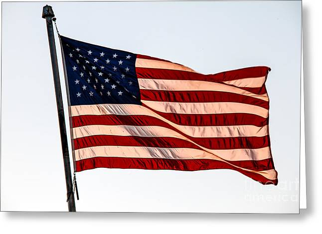 Betsy Ross Greeting Cards - The Best Of Old Glory Greeting Card by Robert Bales