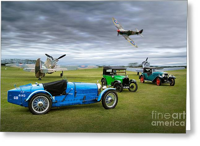 Airoplane Greeting Cards - The Best of the Best Greeting Card by Gordon Hart