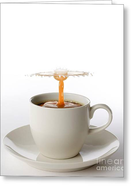 Espresso Prints Greeting Cards - The Best Part Of Waking Up Greeting Card by Susan Candelario
