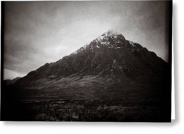 Snow Capped Mountains Greeting Cards - The Beuckle 2 Greeting Card by Dave Bowman