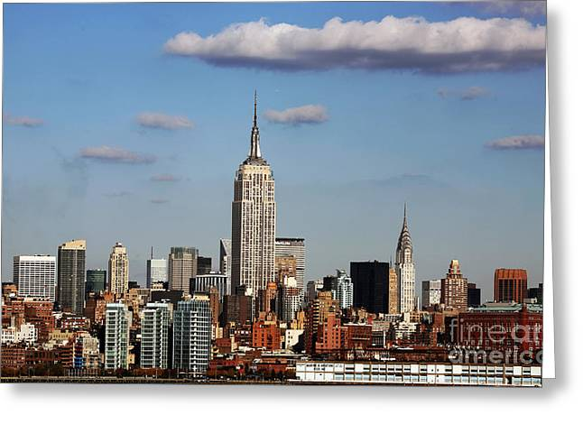 Card For Photographer Greeting Cards - The Big Apple Greeting Card by John Rizzuto