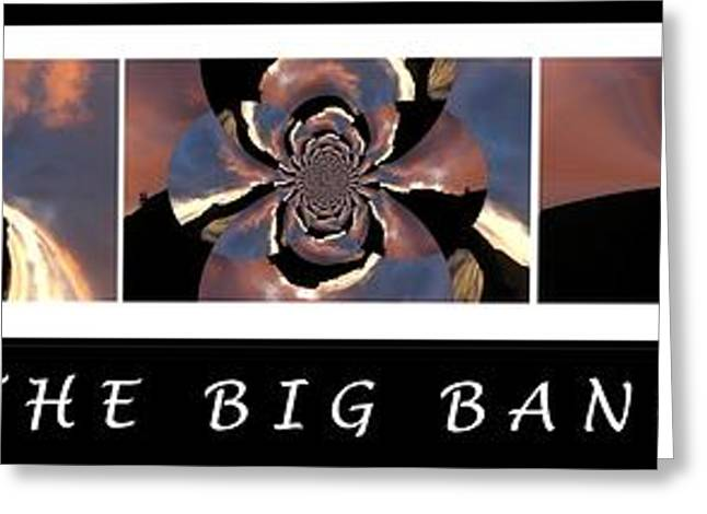 Helium Greeting Cards - The Big Bang - Creation of the Universe Greeting Card by Barbara Griffin