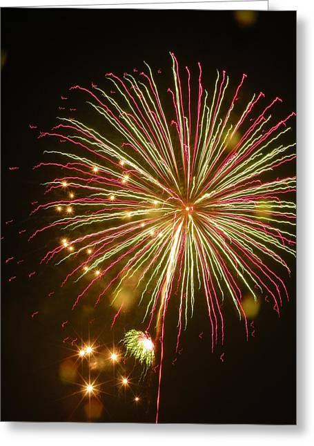 4th July Digital Art Greeting Cards - The Big Bang No2 Greeting Card by Michael Pace