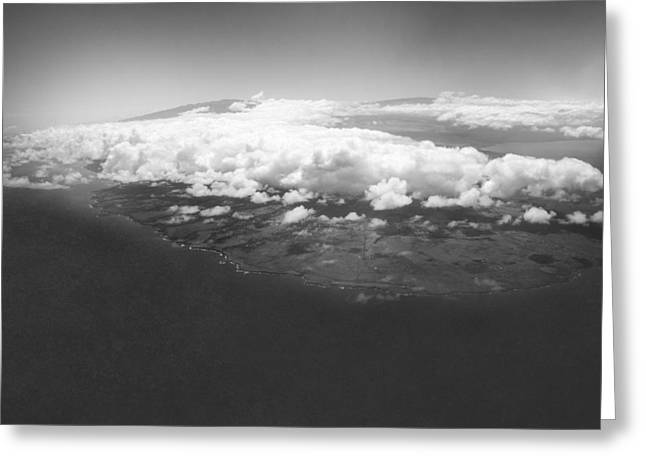 Summer Storm Greeting Cards - The Big Island Greeting Card by Bryant Coffey