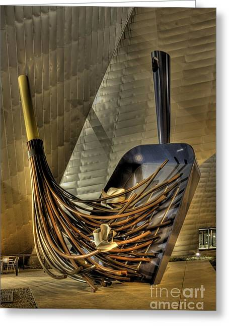 Oldenburg Greeting Cards - The Big Sweep in HDR Greeting Card by David Bearden