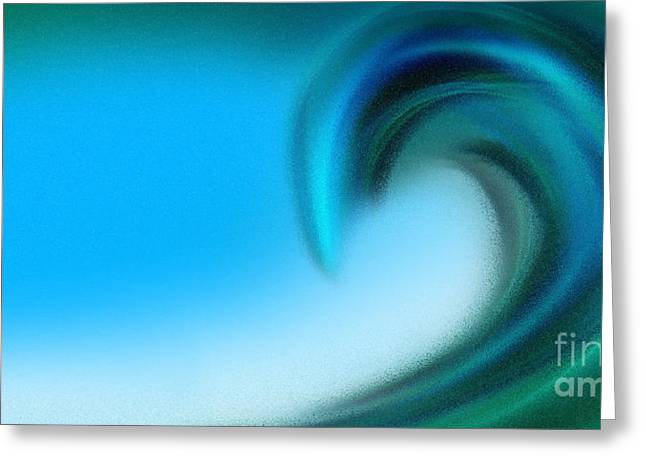 The Big Wave Of Hawaii 2 Greeting Card by Andee Design