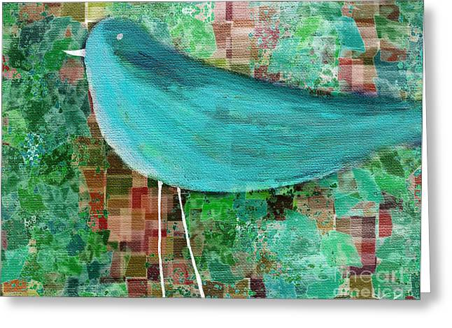 The Bird - 23a1c2 Greeting Card by Variance Collections