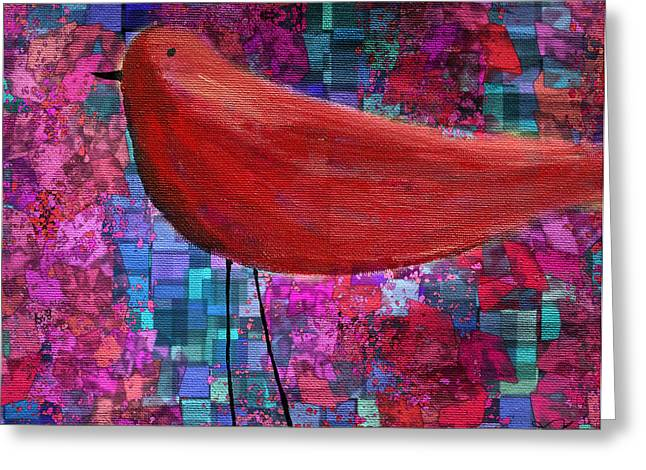 The Bird - S23a01bb Greeting Card by Variance Collections