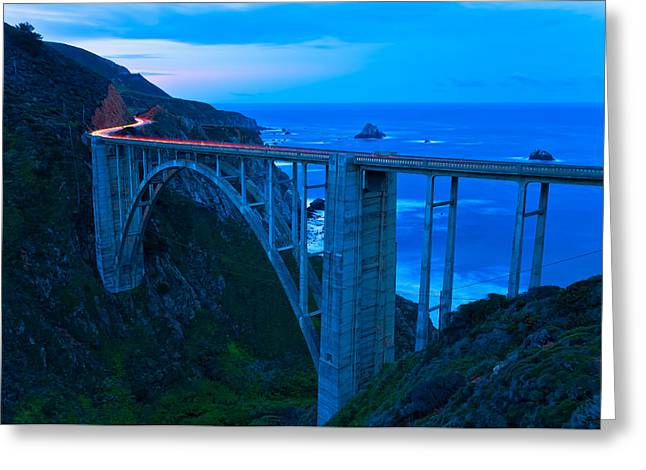 Peaceful Scenery Greeting Cards - The Bixby At Dawn Greeting Card by Jonathan Nguyen