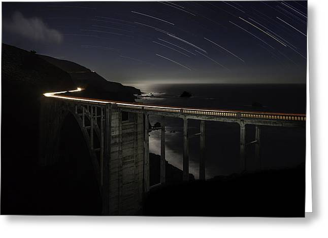 Bixby Bridge Greeting Cards - The Bixby Greeting Card by Kevin L Cole