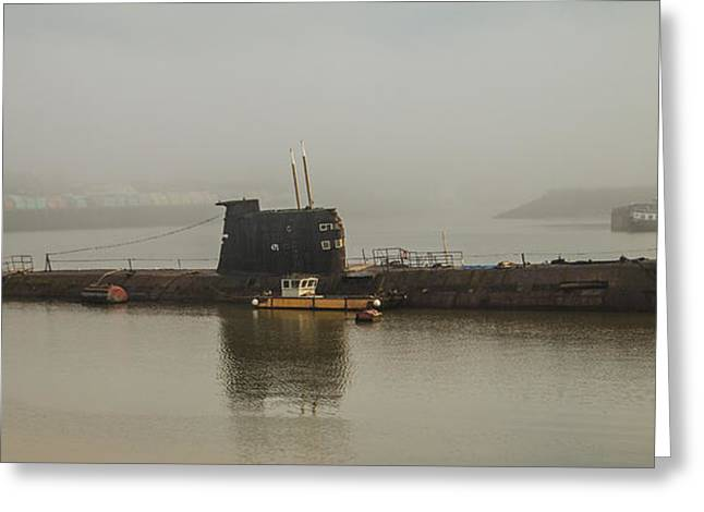 Medway Greeting Cards - The Black Widow Greeting Card by Dawn OConnor