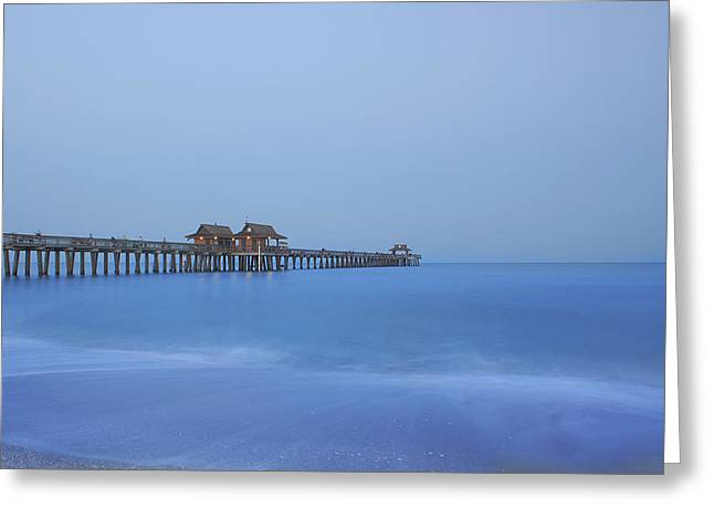 Kim Photographs Greeting Cards - The Blue Hour Greeting Card by Kim Hojnacki