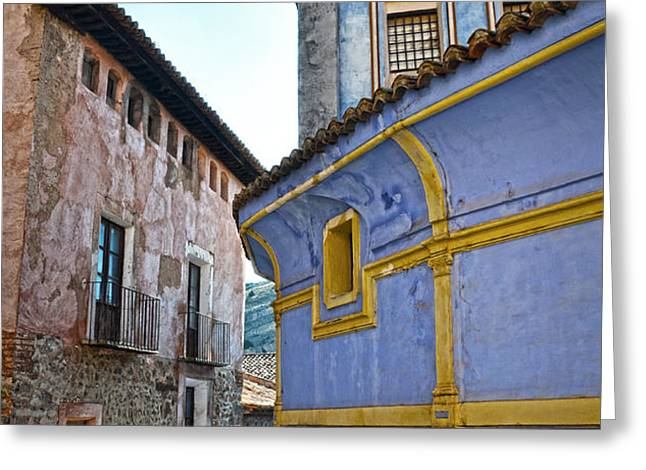 The blue house Greeting Card by RicardMN Photography