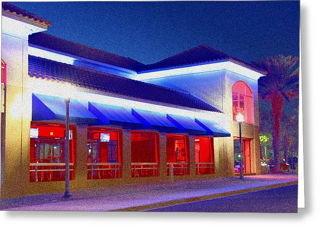 Jacksonville Greeting Cards - The Blue Of Early Eve Greeting Card by Ross Lewis