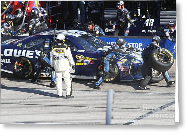 Nascar Digital Art Greeting Cards - The blues brothers Greeting Card by L L L