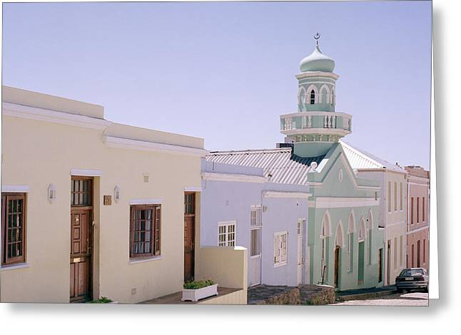 African Heritage Greeting Cards - The Bo Kaap Greeting Card by Shaun Higson