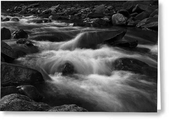 Shades Of Red Greeting Cards - The boiling river Greeting Card by Cristina-Velina Ion