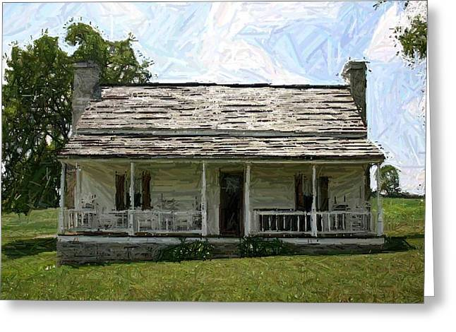 150th Commemoration Greeting Cards - The Bottom House II - Perryville KY Greeting Card by Thia Stover