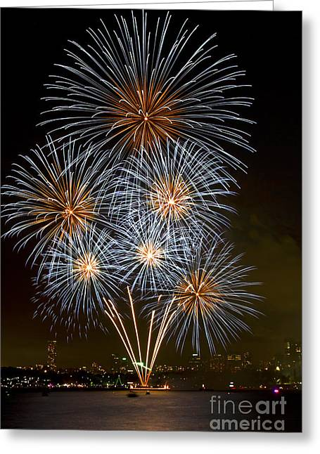 Bryan Freeman Greeting Cards - The Bouquet - New Years Eve - Sydney Harbour - Australia Greeting Card by Bryan Freeman