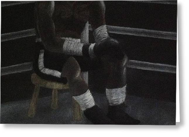 The Boxer 2013 Greeting Card by Carl Frankel