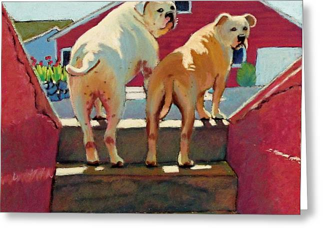 The Boys Greeting Card by Dorothy Jenson