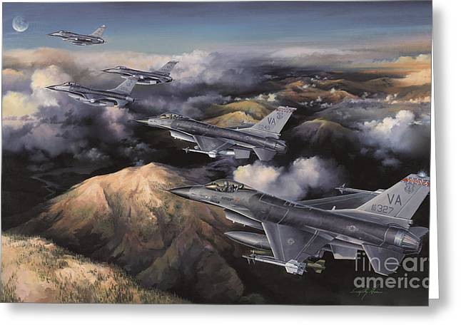 Plane Greeting Cards - The Boys From Richmond Greeting Card by Randy Green