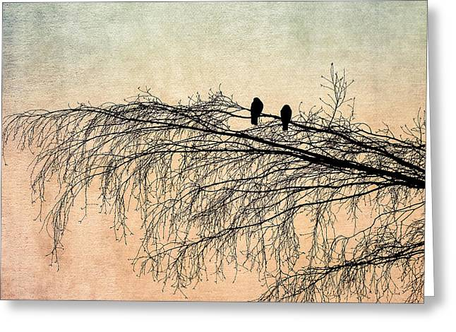 Animals Love Greeting Cards - The Branch Of Reconciliation 2 Greeting Card by Alexander Senin