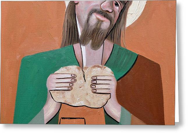 The Bread Of Life Greeting Card by Anthony Falbo