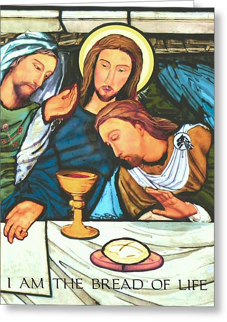 Gospel Greeting Cards - The Bread of Life Greeting Card by Michael Torevell