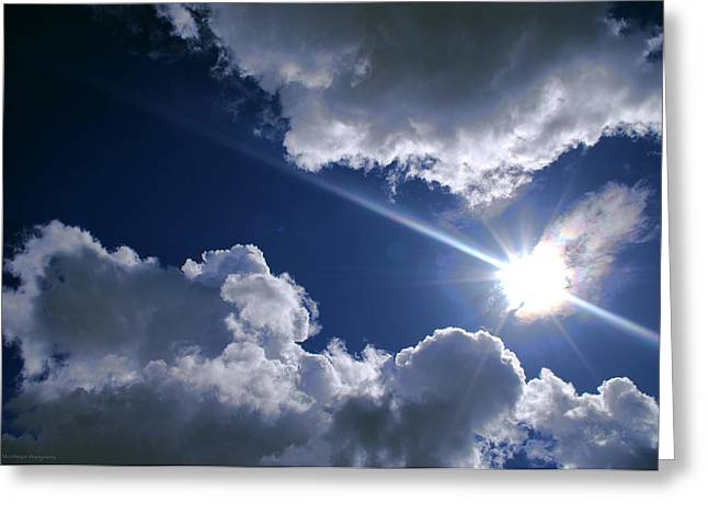 Himmel Greeting Cards - The break through Greeting Card by Philippe Meisburger