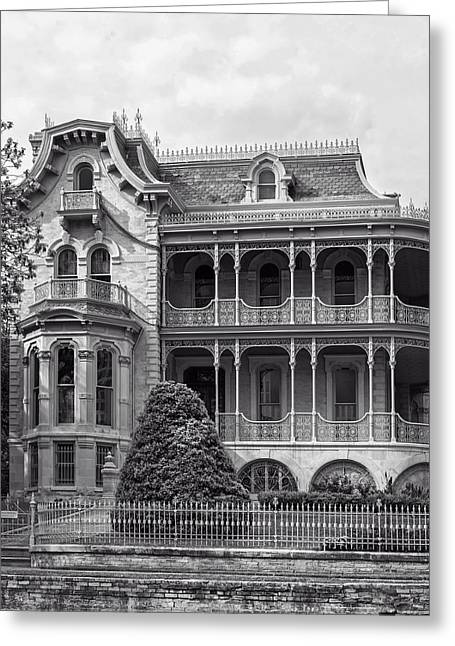 John Jr. Greeting Cards - The Bremond House Greeting Card by Mountain Dreams